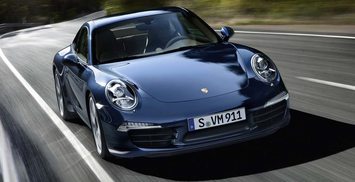 Fuel Efficient Sports Car Porsche 911 Carrera S