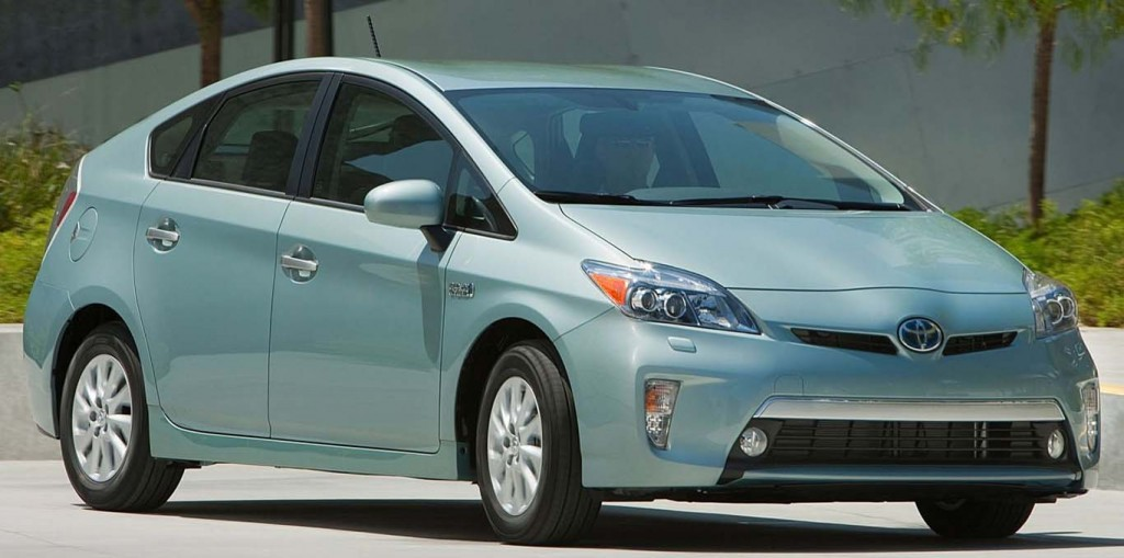 Fuel Efficient Large Hybrid Car Prius-Plug-in-Hybrid