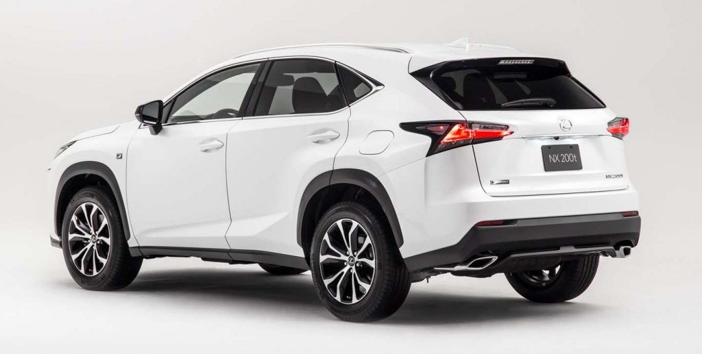 Lexus-NX-2015-most-fuel-efficient-crossover