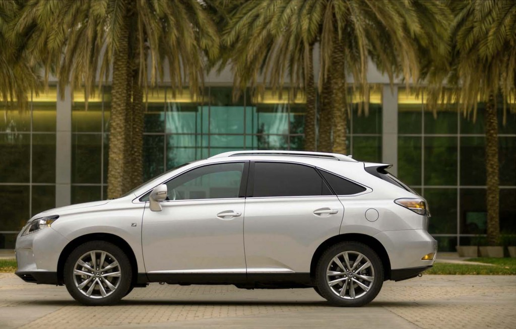 Lexus-RX-2015-most-economical-crossover