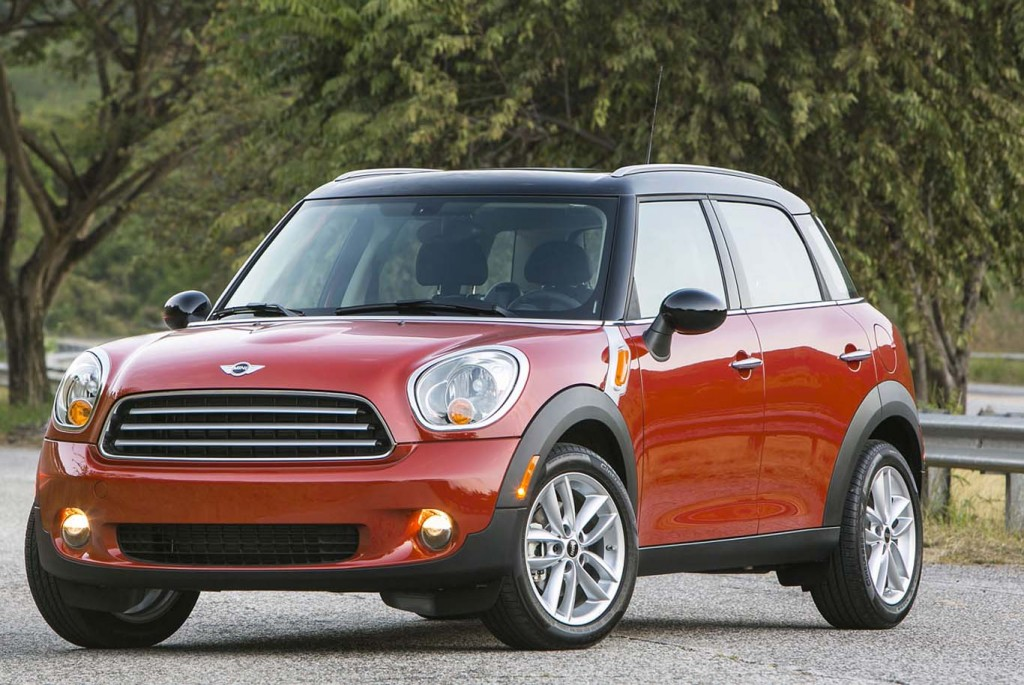 Fuel Efficient Crossovers MINI-Countryman-2015