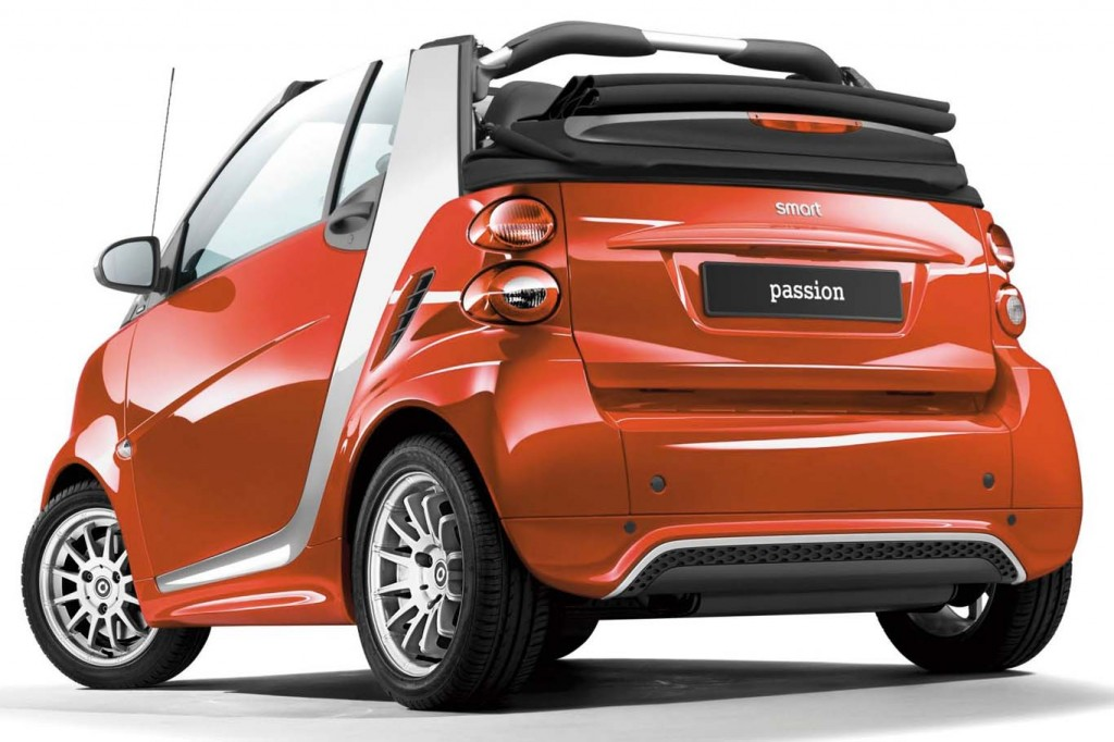 Fuel Efficient Convertible Smart-Fortwo-2015