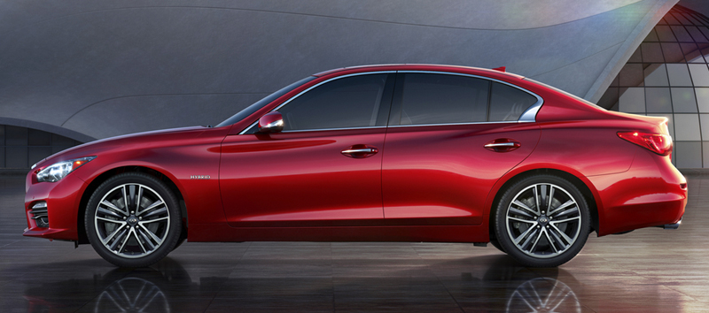 Fuel Efficient Luxury Cars Infinti Q50