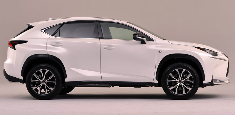 Fuel Efficient Luxury Cars lexus-nx