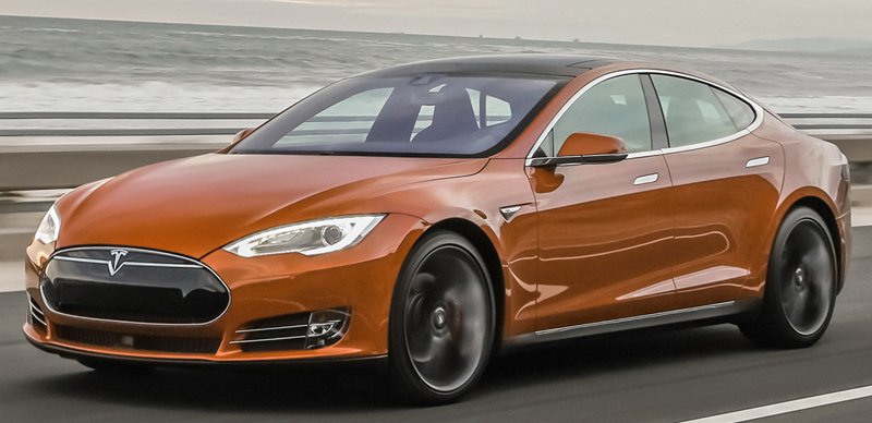 Fuel Efficient Luxury Cars tesla-model-s