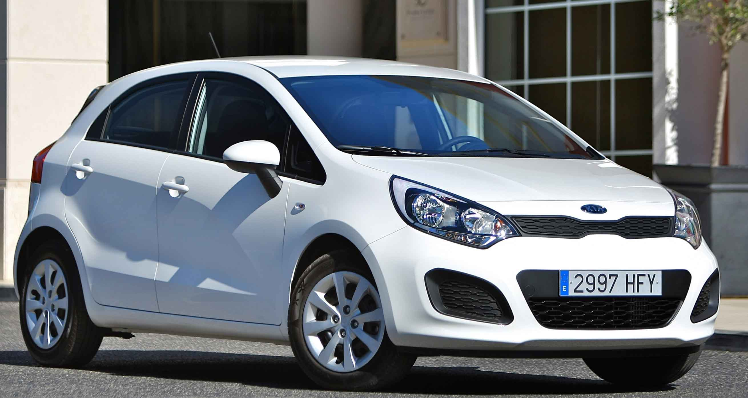 Kia Rio 1 10 Crdi Fuel Efficient Car Front