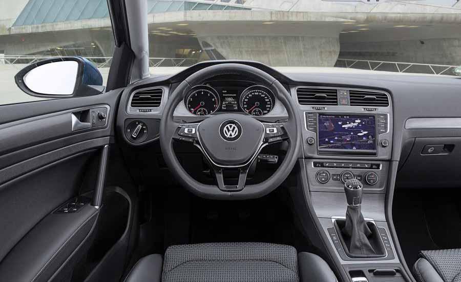 Volkswagen-Golf-BlueMotion-interior-view-economical-cars