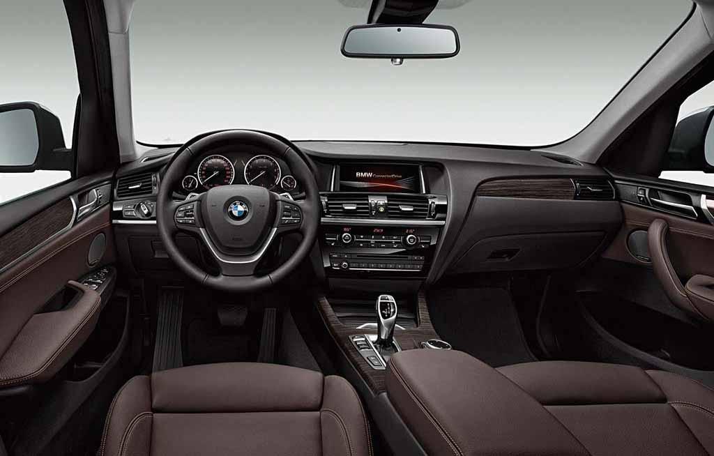 BMW-X3-2016-Interior