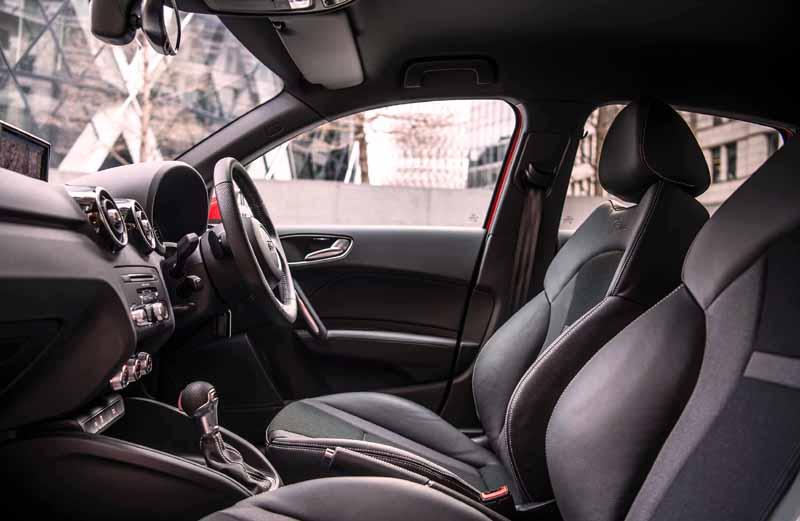 Audi A1 inner look
