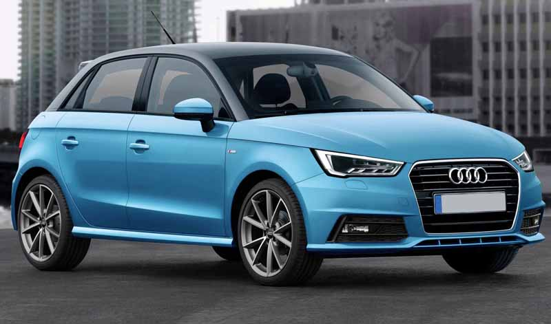 Small cars with automatic gearbox Audi A1