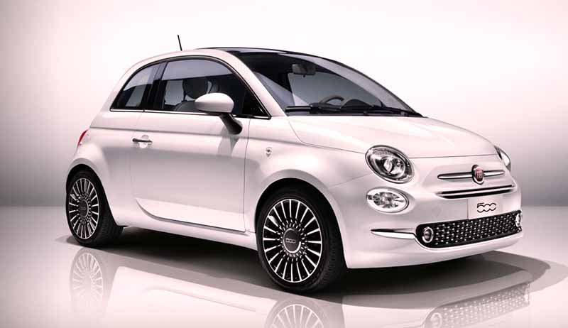 Small cars with automatic gearbox Fiat 500