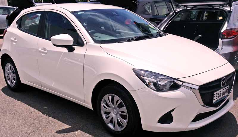 small cars with automatic transmission Mazda 2