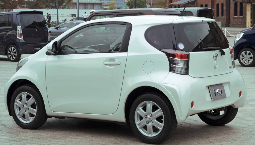 Fuel Efficient Non Hybrid Cars Scion-iQ-36-compete-view
