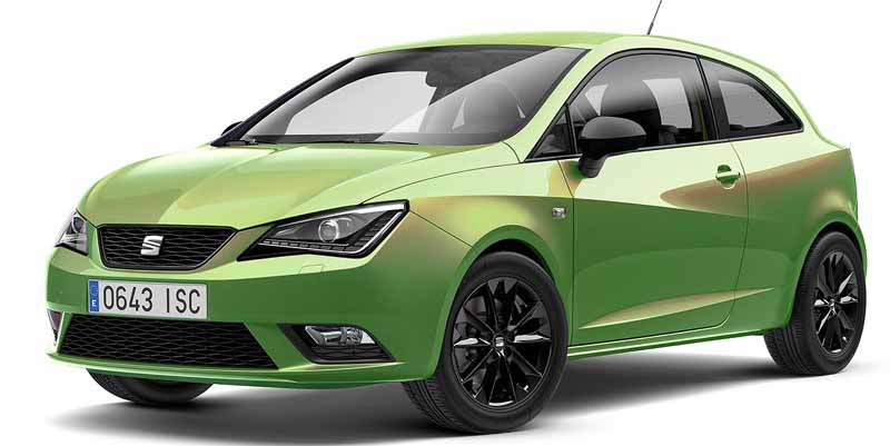small cars with automatic transmission Seat Ibiza