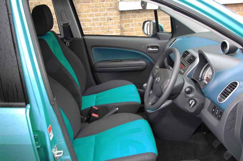 Vauxhall Agila inner