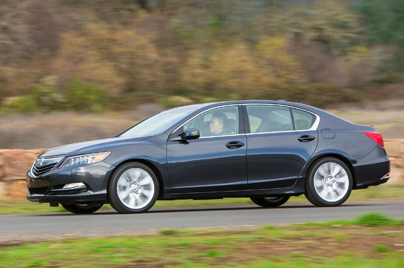 Safest Car to Drive 2016-acura-rlx