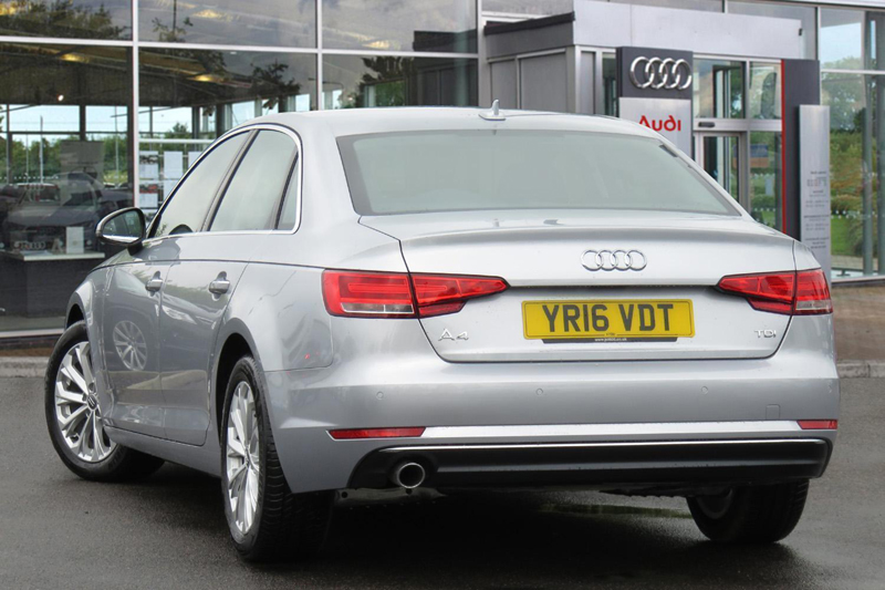Lowest CO2 Emission Cars audi-a4-saloon-2-0-tdi-ultra-se-150ps