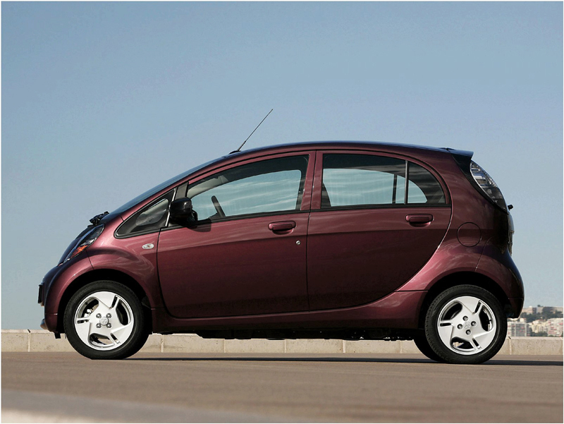 Lowest CO2 Emission Cars mitsubishi-i-miev-electric-car-keiko-47kw-auto