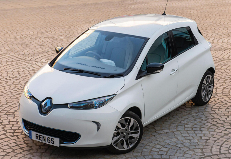 Lowest CO2 Emission Cars renault-zoe-electric-car-auto