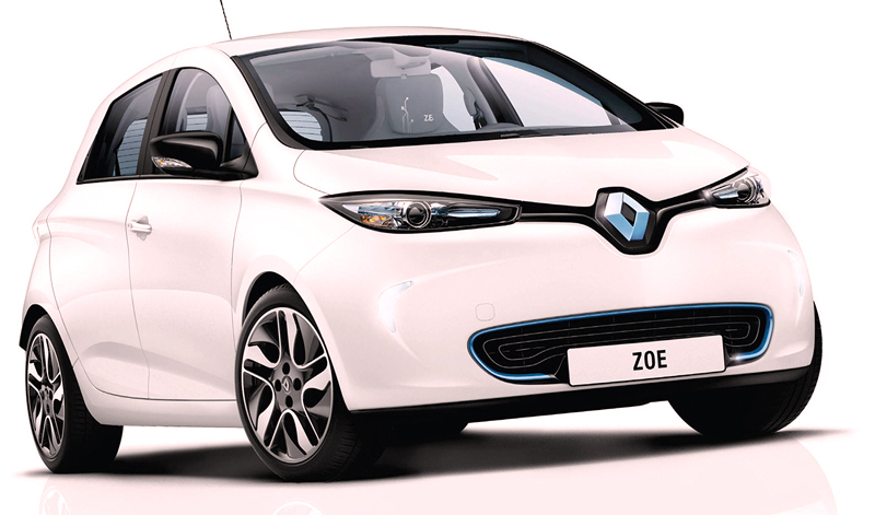 Lowest CO2 Emission Cars renault-zoe-electric-car-expression-nav-65kw