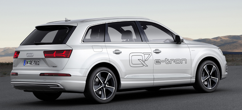 Lowest CO2 Emission Cars Audi Q7 e-tron 3.0 TDI quattro
