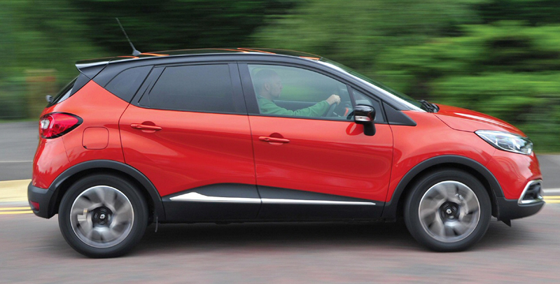 Lowest CO2 Emission Cars renault-captur-1-5-dci-expression-90