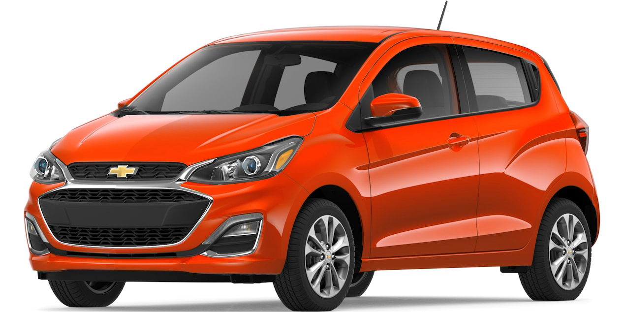 1st In List Of Most Fuel Efficient Cars Chevrolet Spark Ev