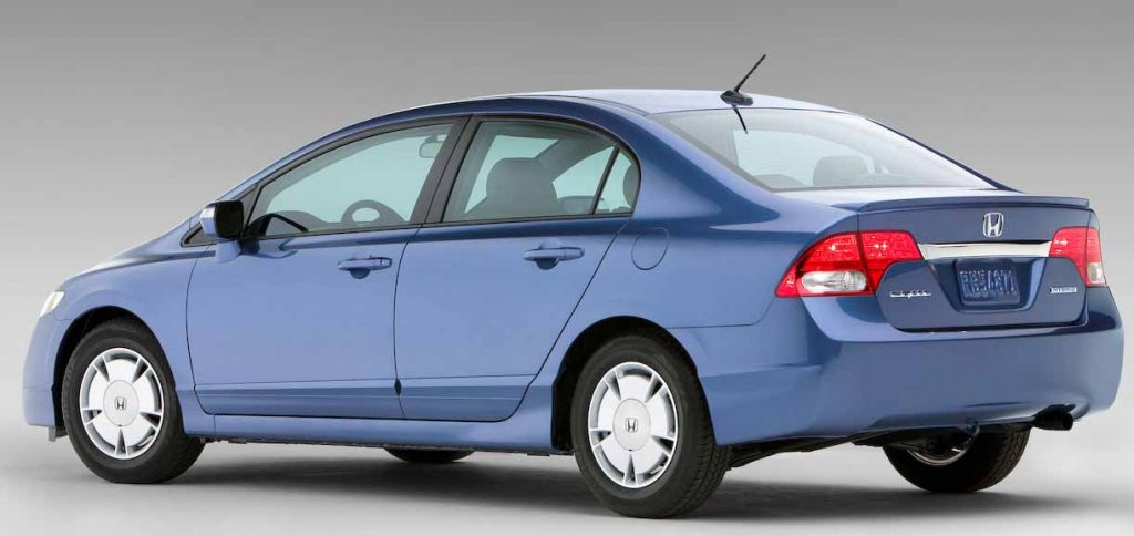 Honda Civic Hybrid fuel efficient car