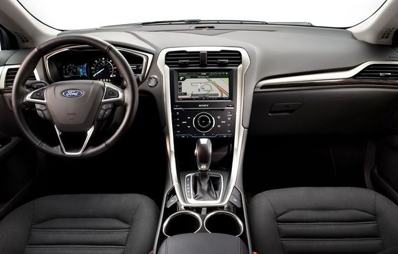 Driving Seat Fuel Efficient Ford Fusion