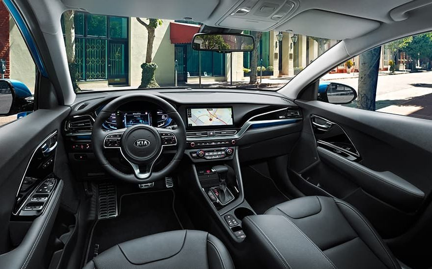 Interior Fuel Efficient Kia Niro