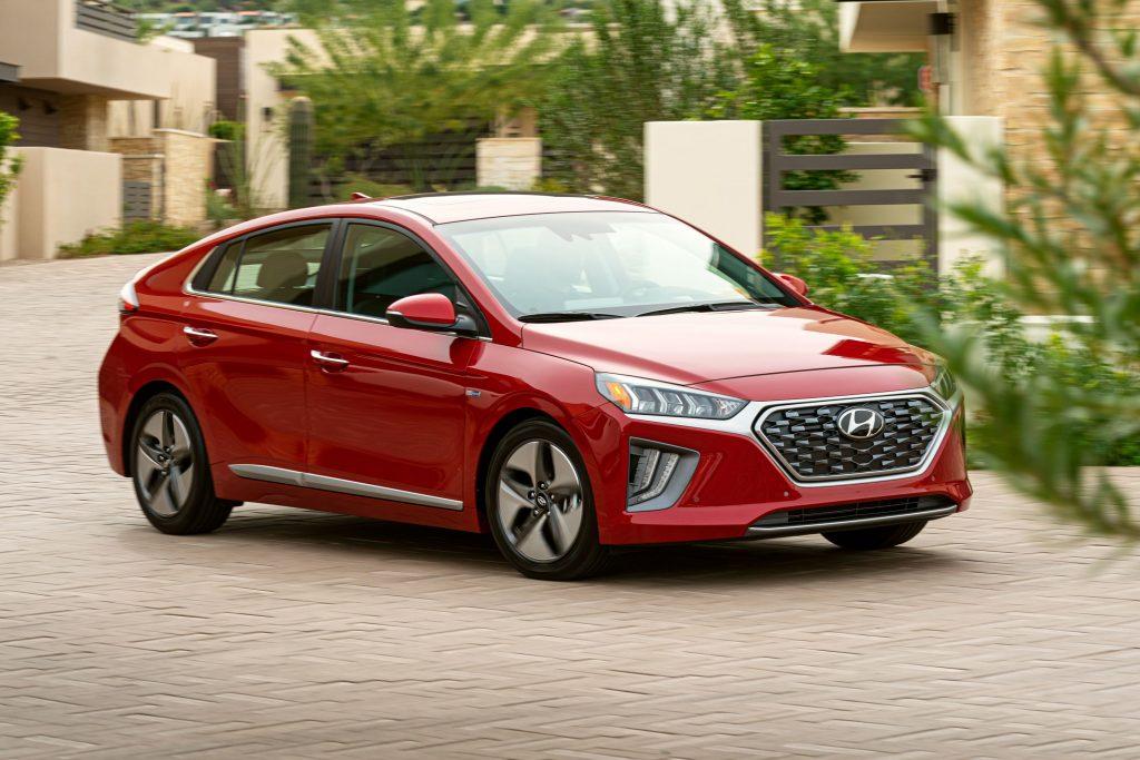 Stylish Hyundai Ioniq
