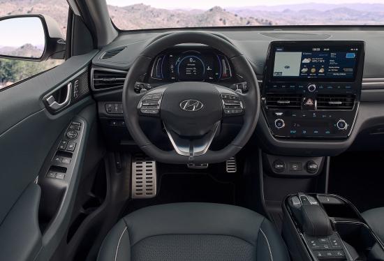 Inner Look Hyundai Ioniq