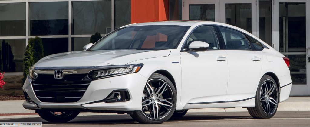Stylish Fuel Efficient Honda Accord 2021