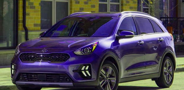 Fresh look of Fuel Efficient Kia Niro