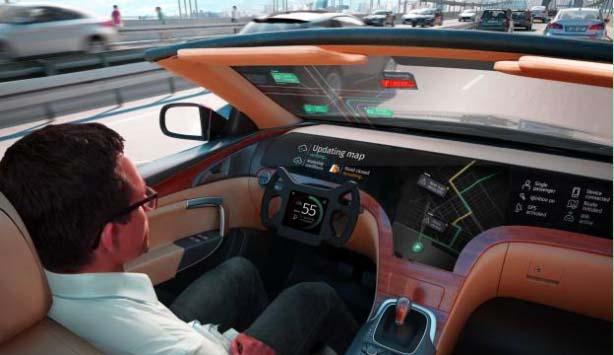 future of autonomous vehicle Inner view