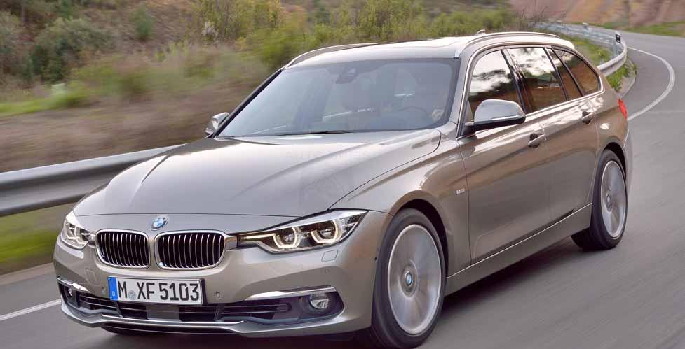 BMW-3-Series-Touring-экономичный-автомобиль-BMW-328I-2016-вид спереди