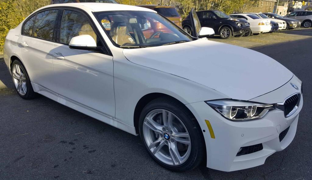BMW-3-Series-универсал-экономичное топливо-легковые автомобили-BMW-340I-2016-белый