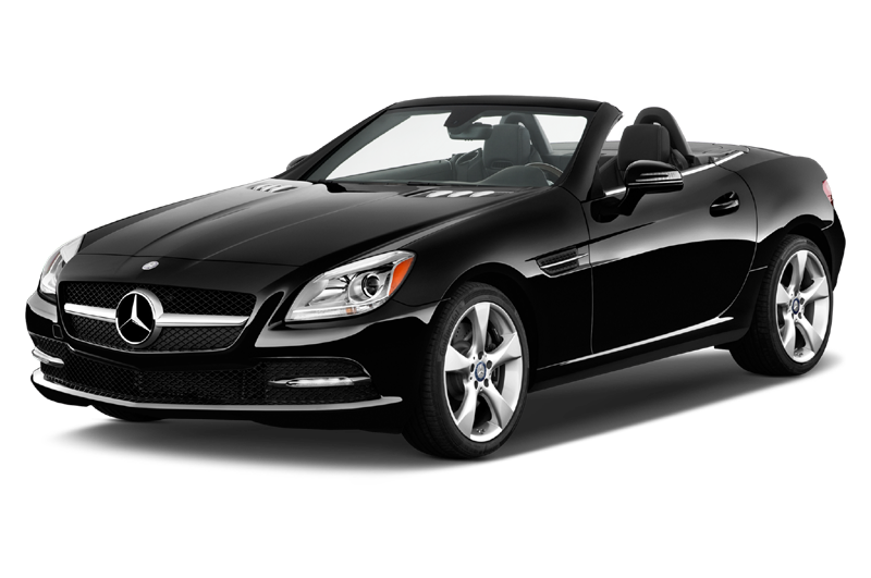 fuel efficient sports cars automatic transmission mercedes benz slkclass front