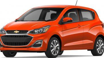 Chevrolet Spark Most Fuel Efficient Cars